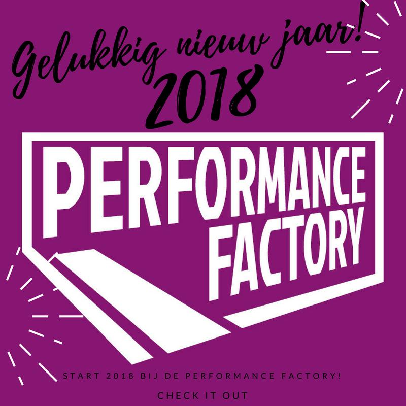 Performance Factory wenst je een gelukkig 2018!