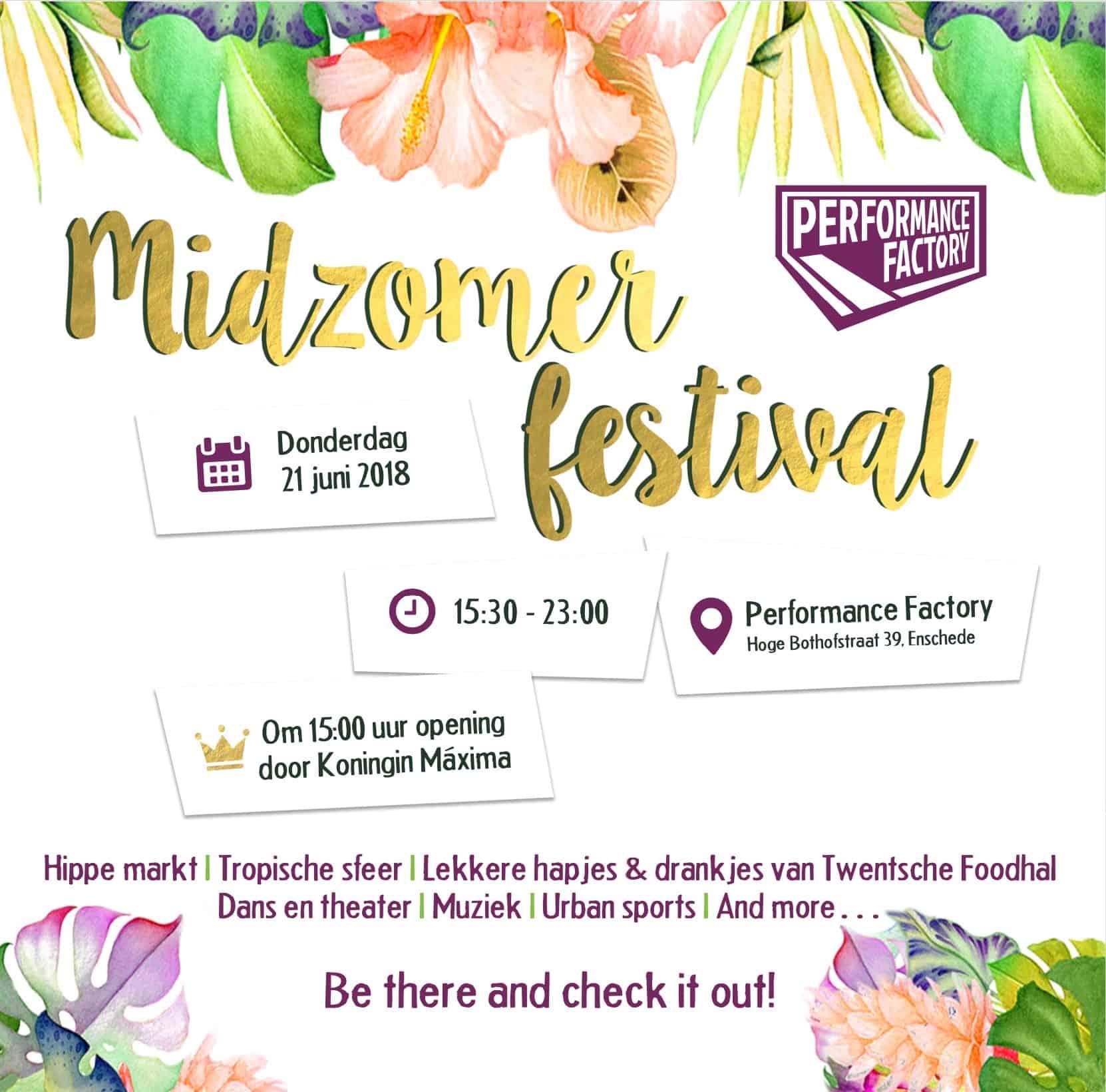 Timetable Midzomer Festival!